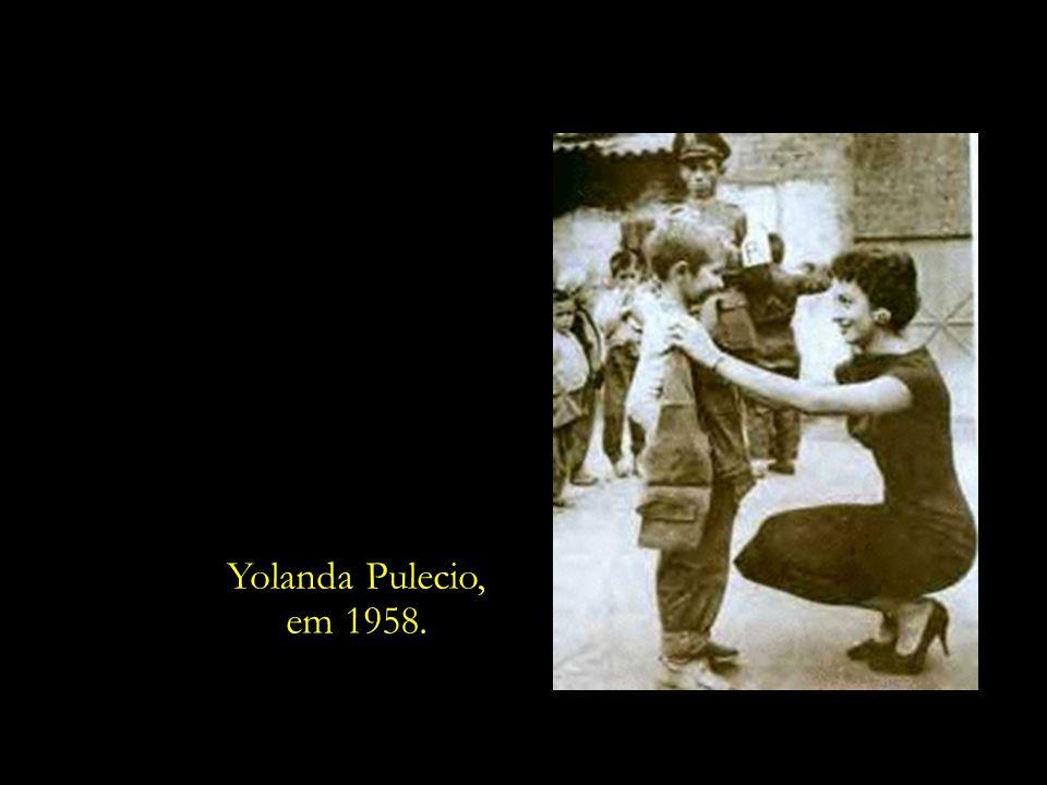 Yolanda Pulecio, em 1958.