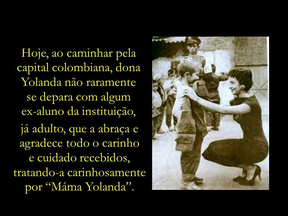 capital colombiana, dona Yolanda não raramente se depara com algum