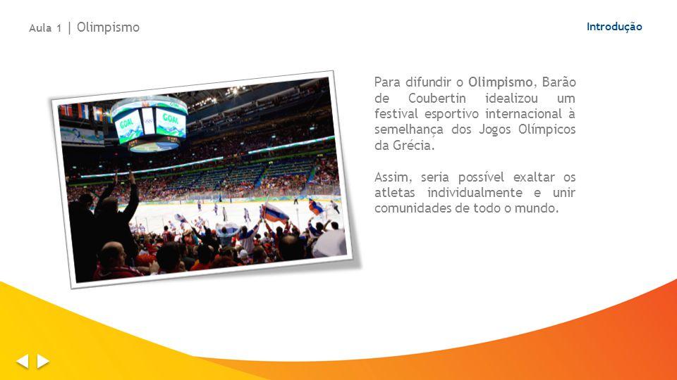 Aula 1 | Olimpismo Introdução.