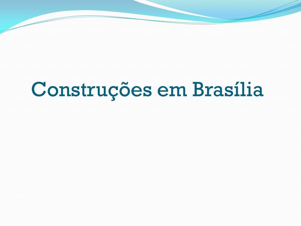 Construções em Brasília