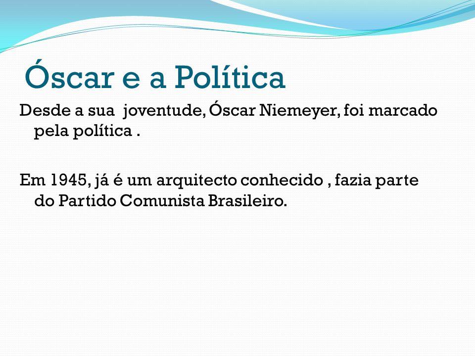 Óscar e a Política