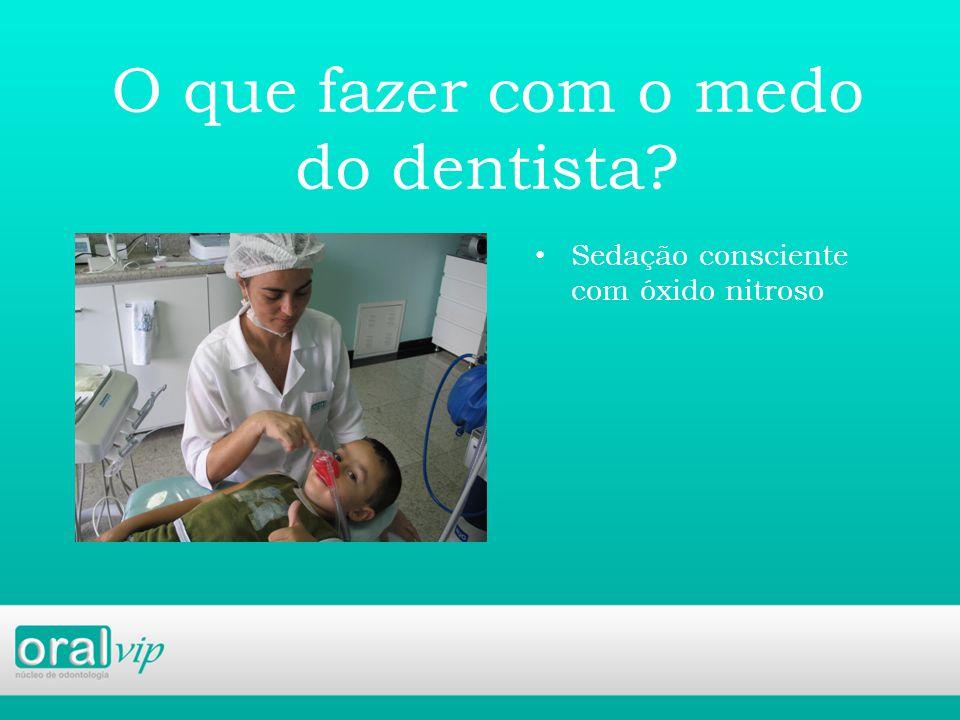 O que fazer com o medo do dentista