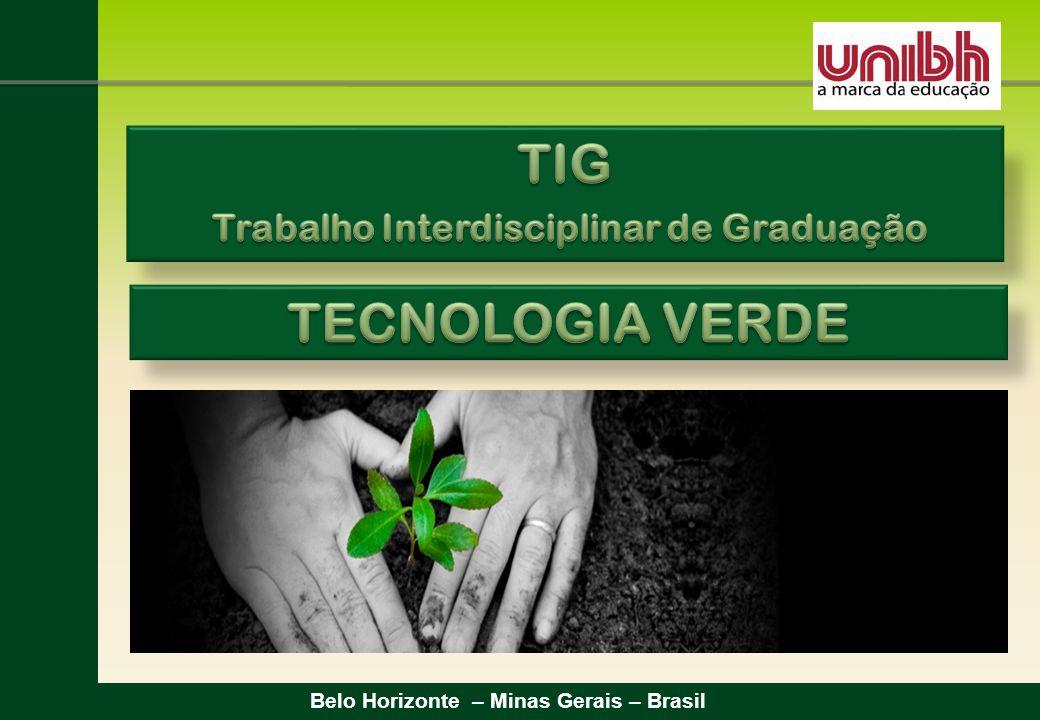TIG TECNOLOGIA VERDE Trabalho Interdisciplinar de Graduação