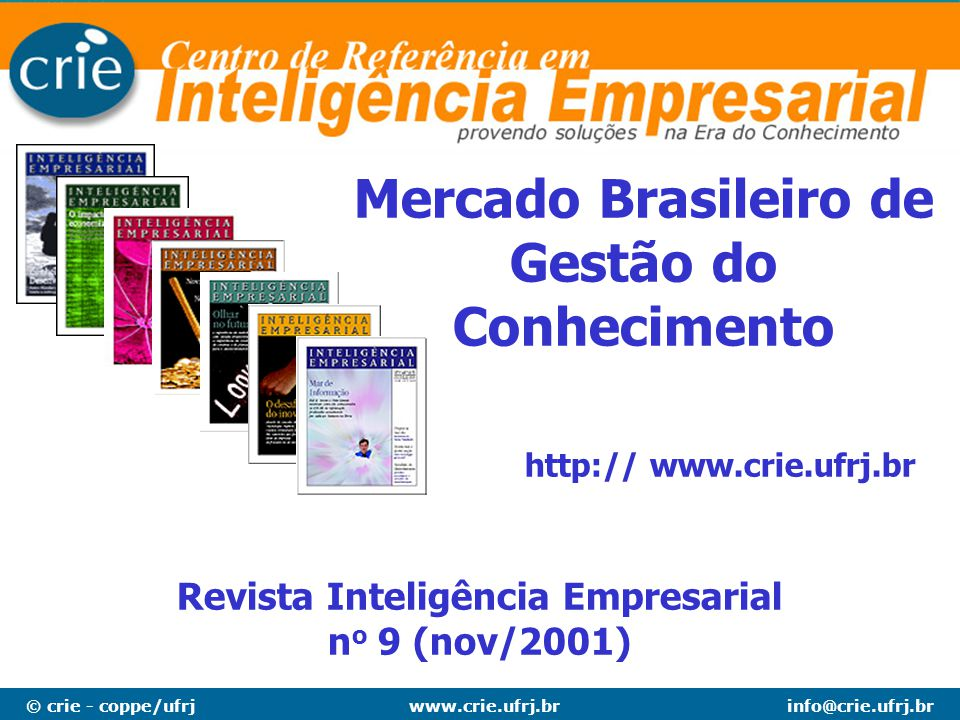 Mercado Brasileiro de Gestão do Conhecimento