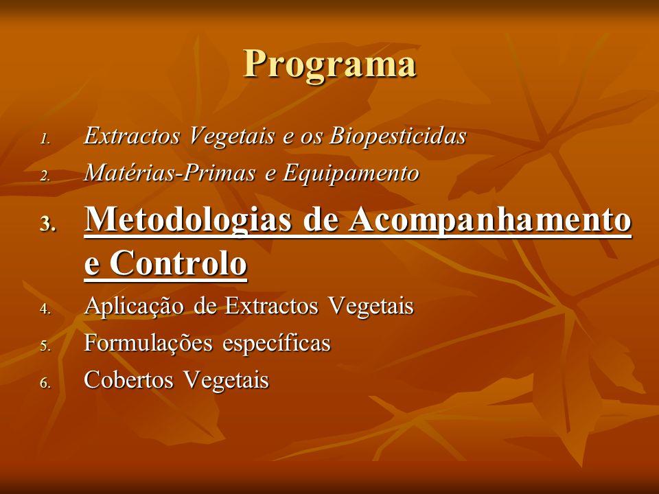 Programa Metodologias de Acompanhamento e Controlo