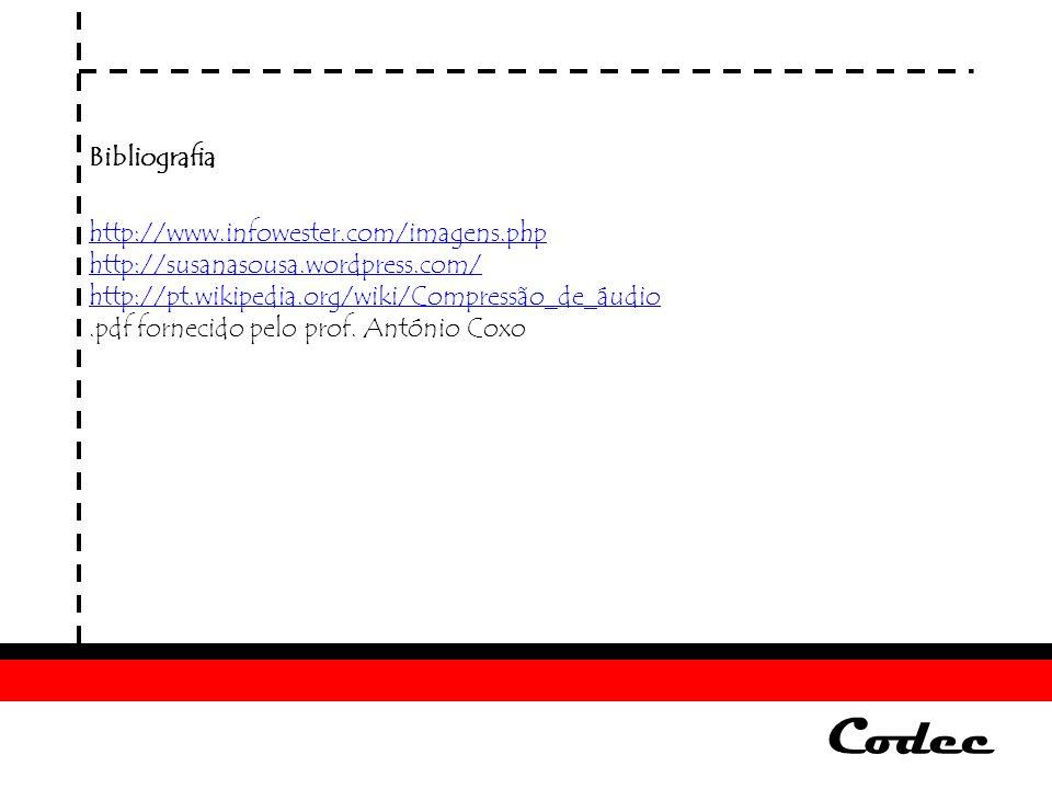 Codec Bibliografia http://www.infowester.com/imagens.php