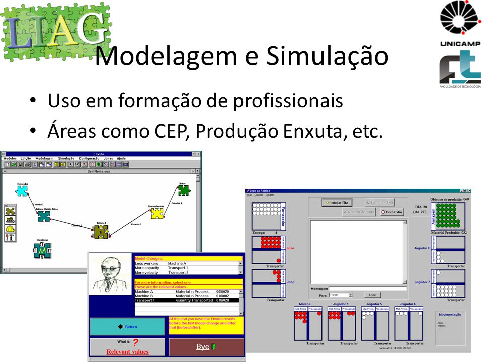 Modelagem e Simulação Uso em formação de profissionais
