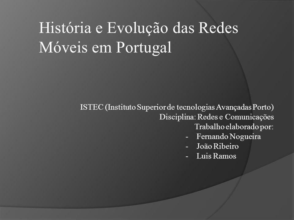 História e Evolução das Redes Móveis em Portugal