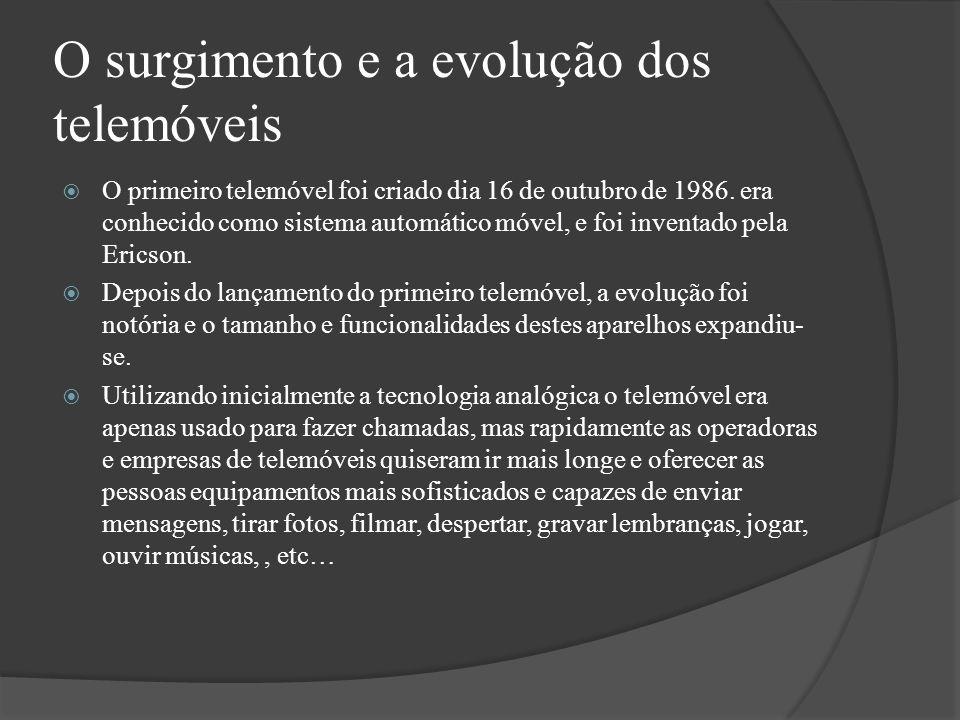 O surgimento e a evolução dos telemóveis