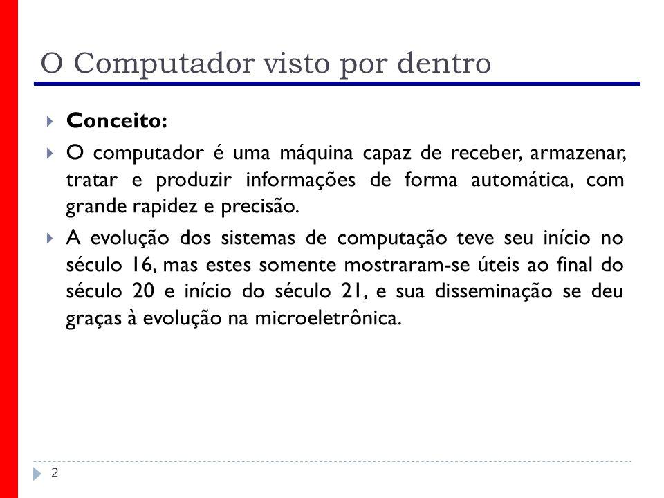 O Computador visto por dentro