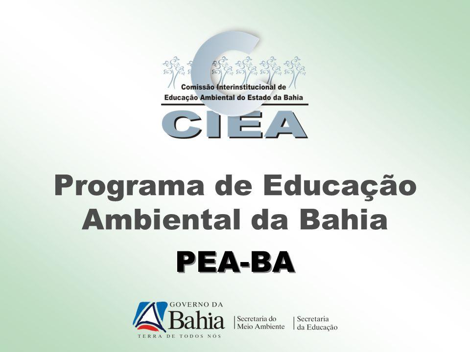 Programa de Educação Ambiental da Bahia