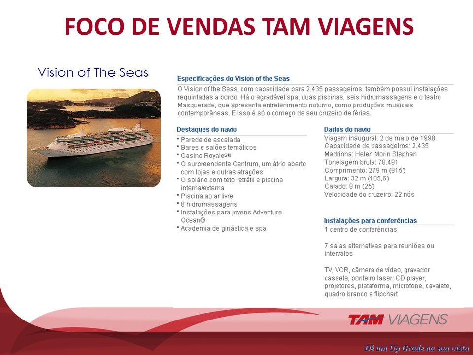 FOCO DE VENDAS TAM VIAGENS Saídas do Porto de Santos