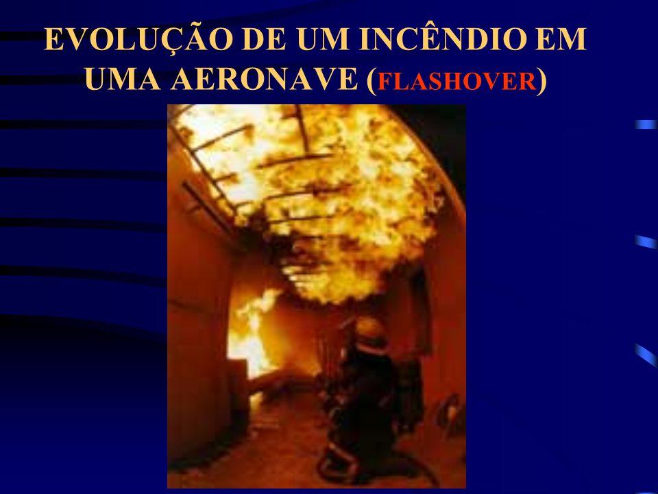 EVOLUÇÃO DE UM INCÊNDIO EM UMA AERONAVE (FLASHOVER)