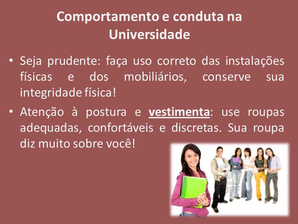 Comportamento e conduta na Universidade