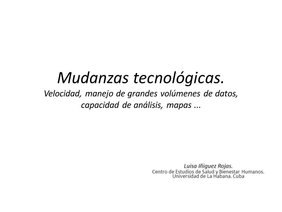 Mudanzas tecnológicas
