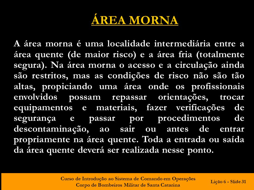 ÁREA MORNA
