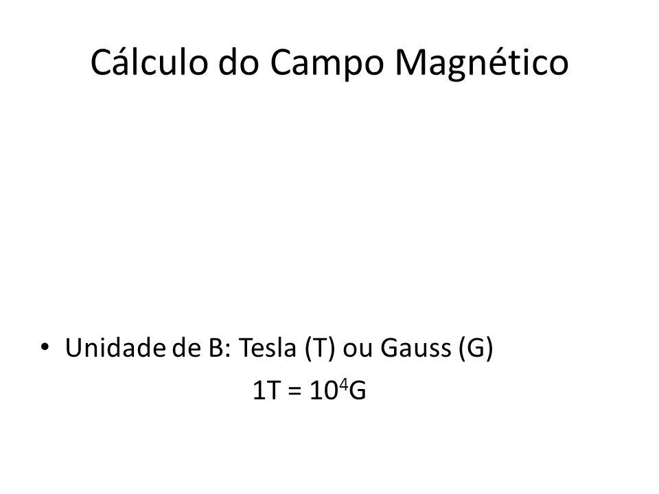 Cálculo do Campo Magnético
