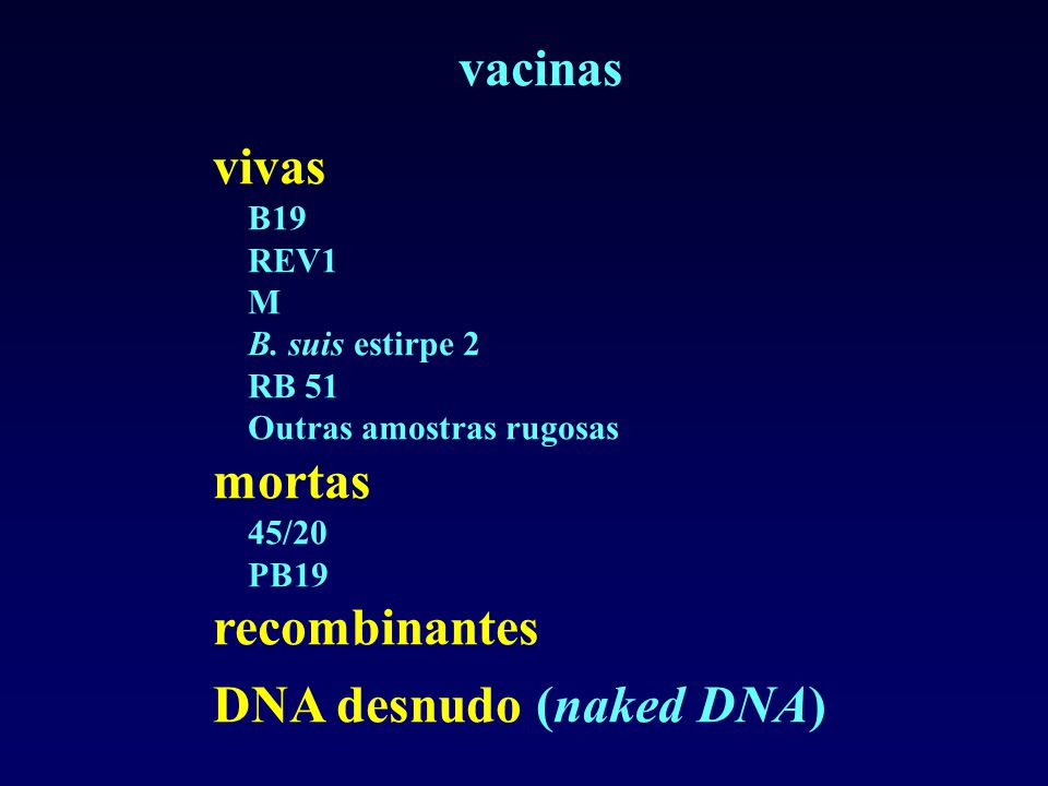 DNA desnudo (naked DNA)