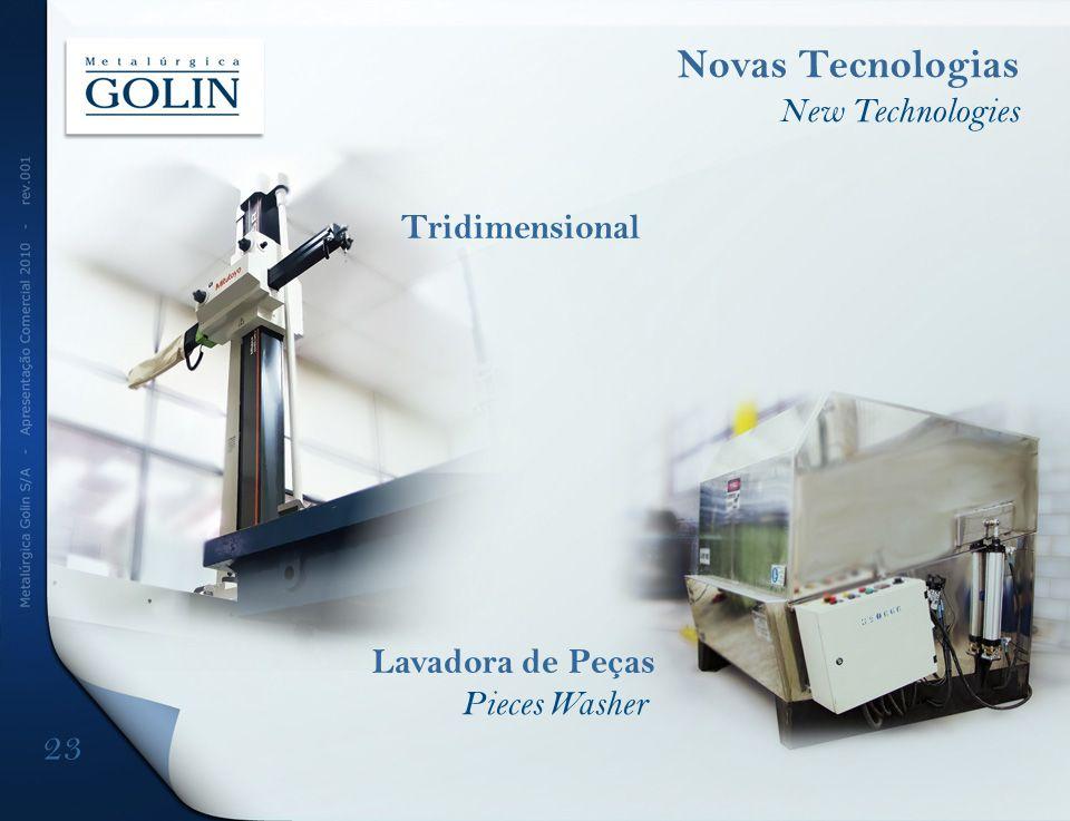 Novas Tecnologias 23 New Technologies Tridimensional Lavadora de Peças