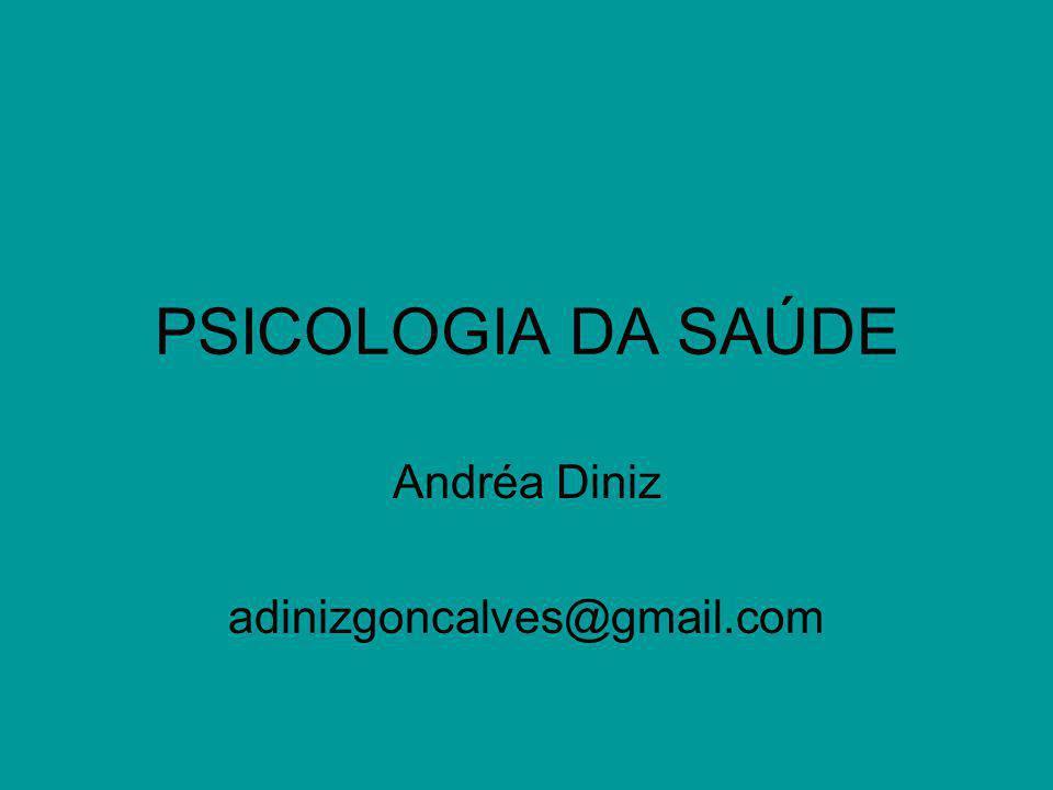 Andréa Diniz adinizgoncalves@gmail.com