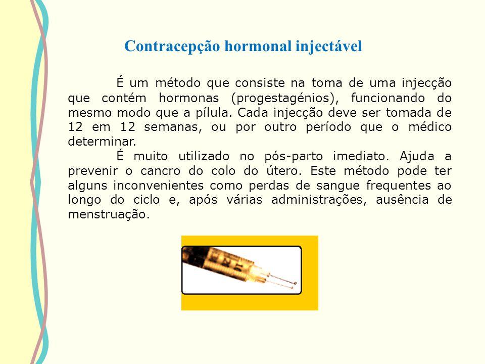 Contracepção hormonal injectável