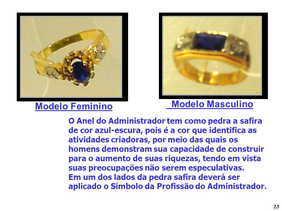 Modelo Masculino Modelo Feminino
