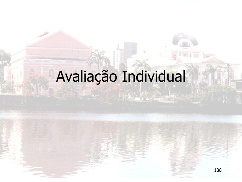 Avaliação Individual