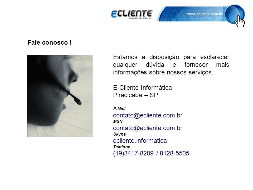E-Cliente Informática Piracicaba – SP