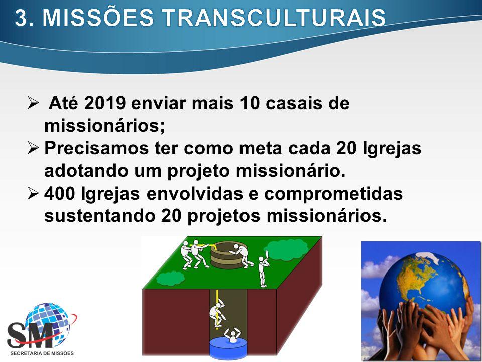 3. MISSÕES TRANSCULTURAIS