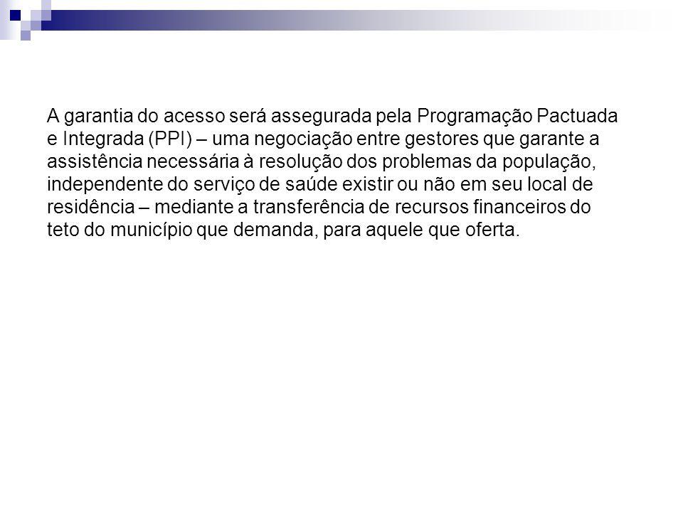O trabalho analisou o impacto sobre o acesso à internação hospitalar na Região Norte Fluminense entre os anos de 2002 a 2007, a partir da implantação do PDR/RJ (2001/2004).