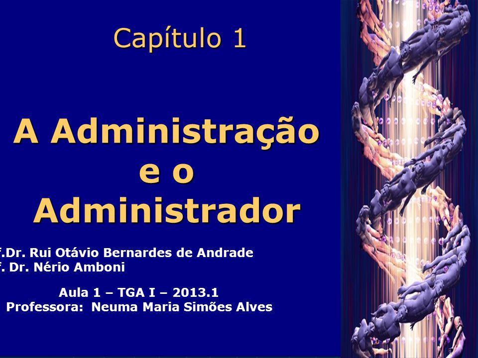 A Administração e o Administrador