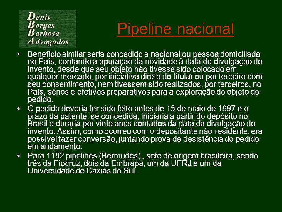 Pipeline nacional