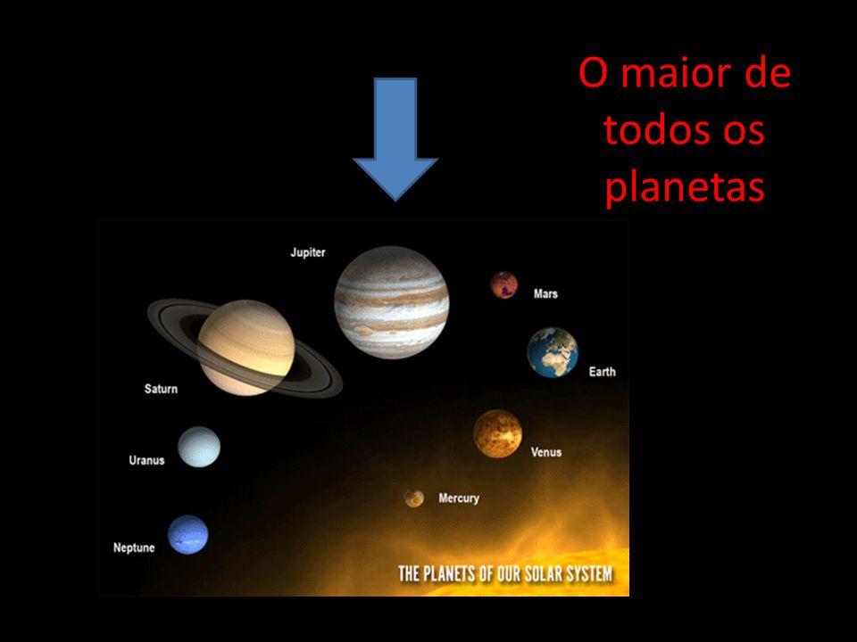 O maior de todos os planetas