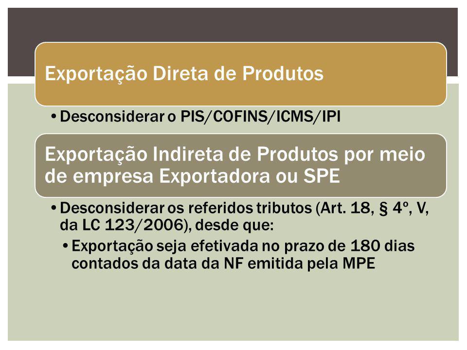 Exportação Direta de Produtos