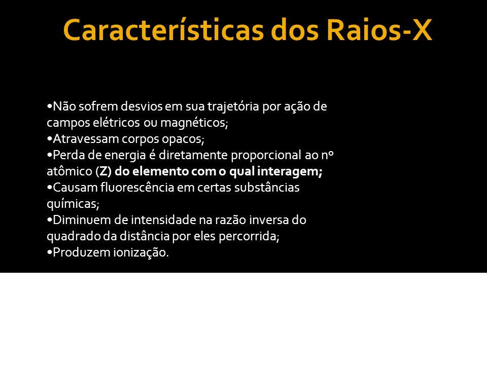 Características dos Raios-X