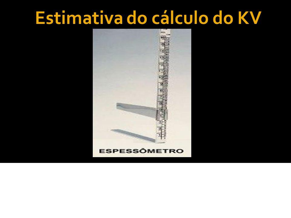 Estimativa do cálculo do KV