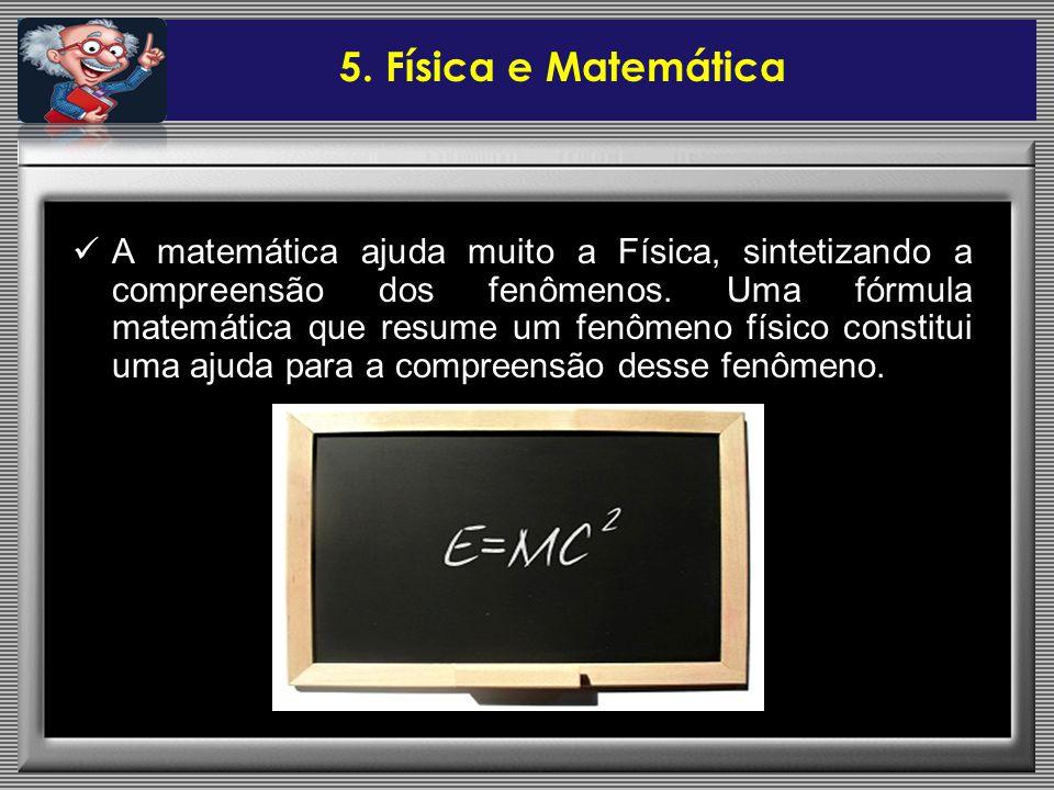 5. Física e Matemática