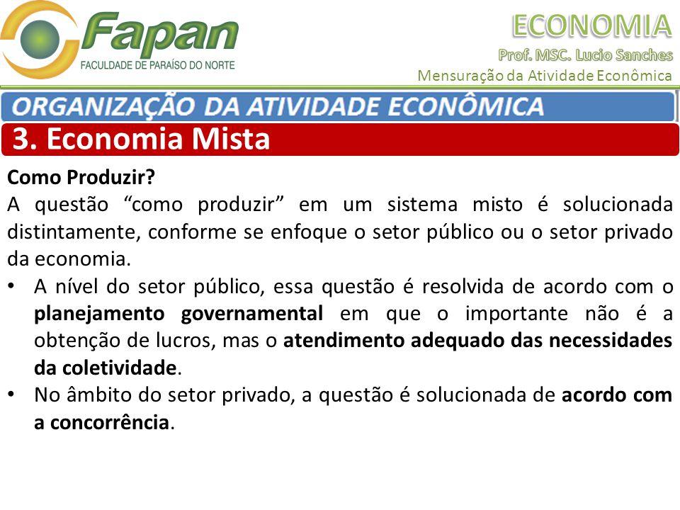 3. Economia Mista Como Produzir