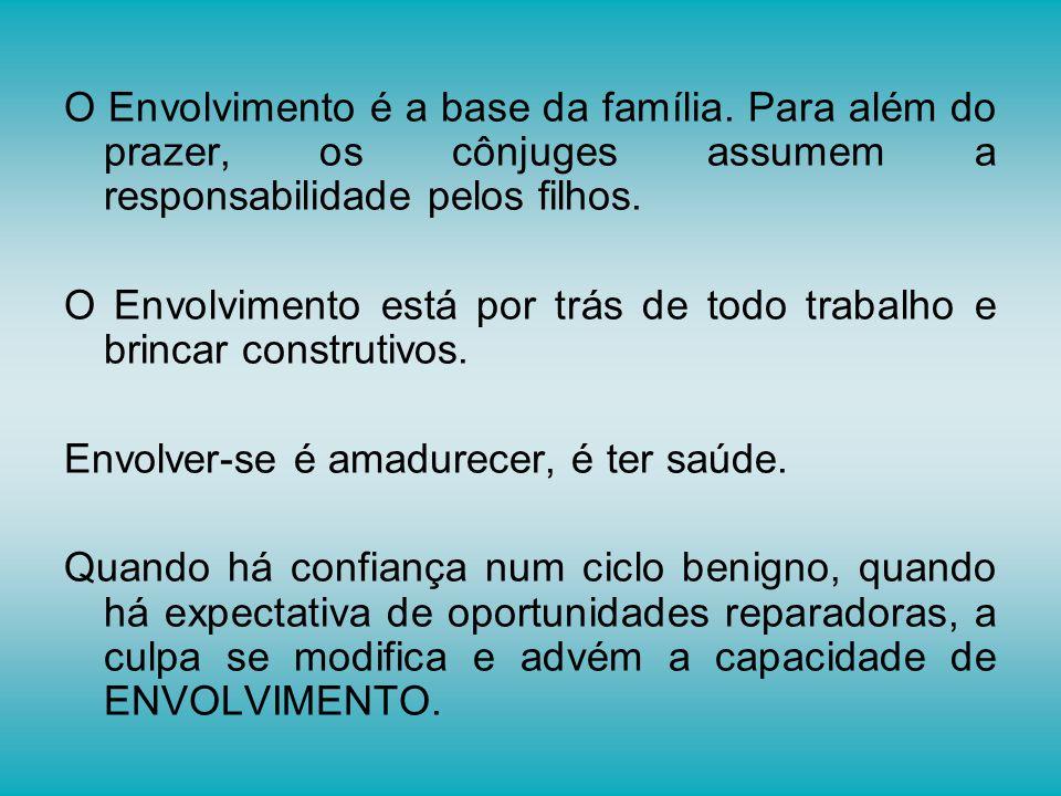 O Envolvimento é a base da família