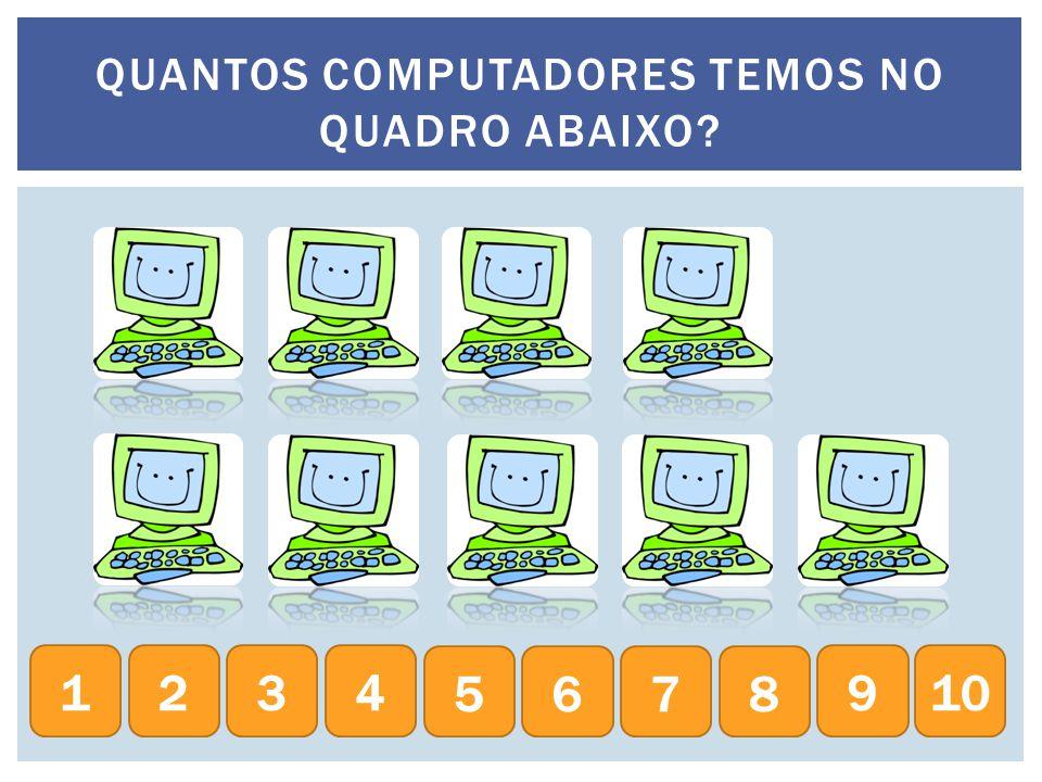 QUANTOS COMPUTADORES TEMOS NO QUADRO ABAIXO