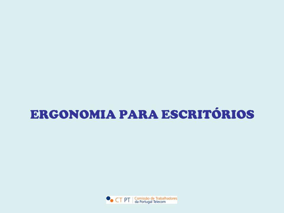 ERGONOMIA PARA ESCRITÓRIOS