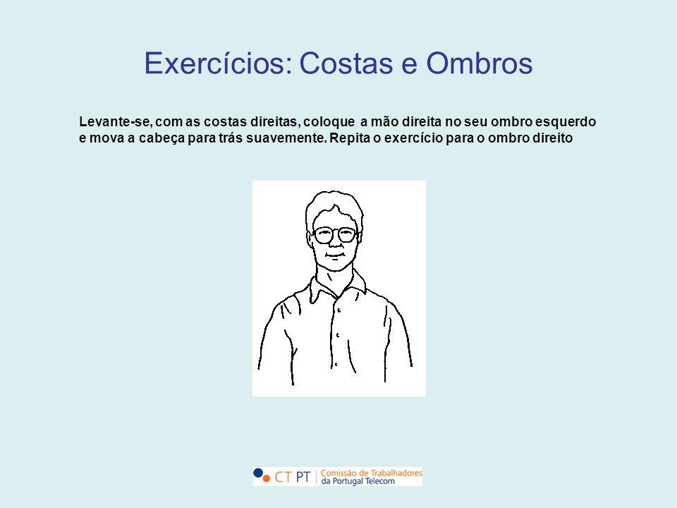 Exercícios: Costas e Ombros