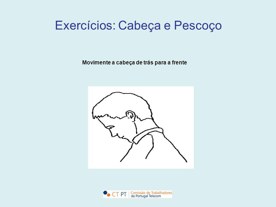Exercícios: Cabeça e Pescoço