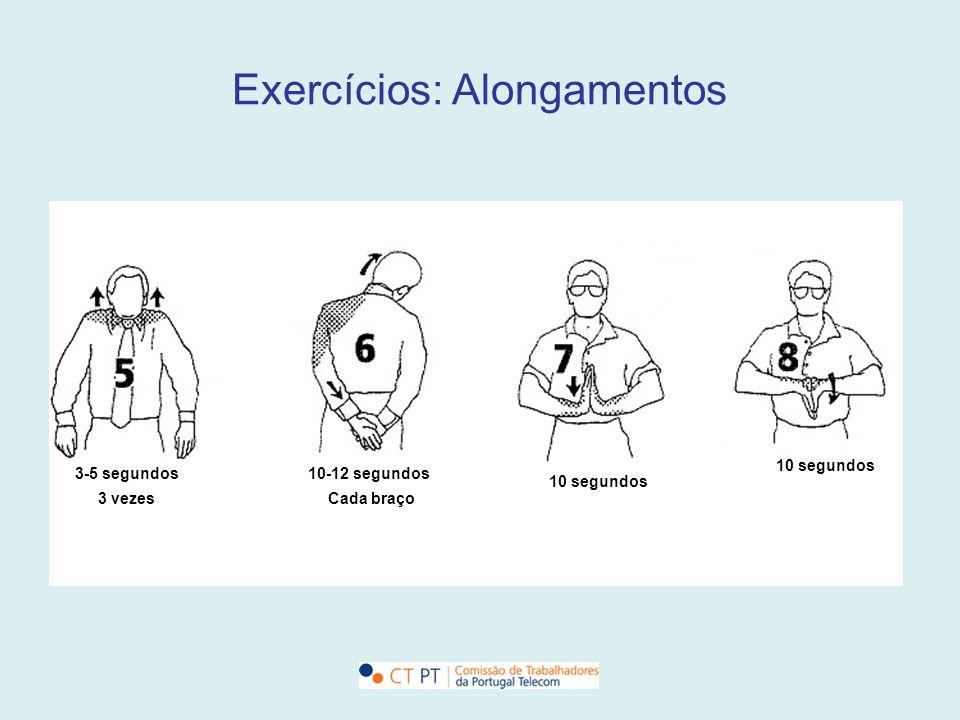 Exercícios: Alongamentos