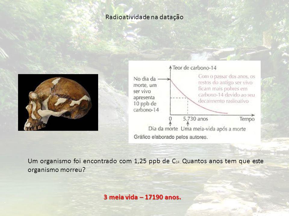 Radioatividade na datação