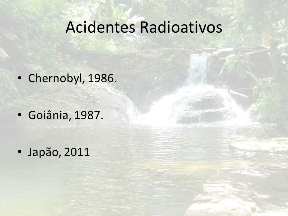 Acidentes Radioativos