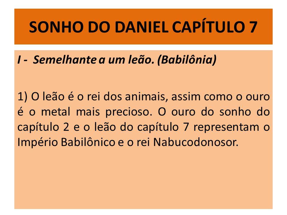 SONHO DO DANIEL CAPÍTULO 7