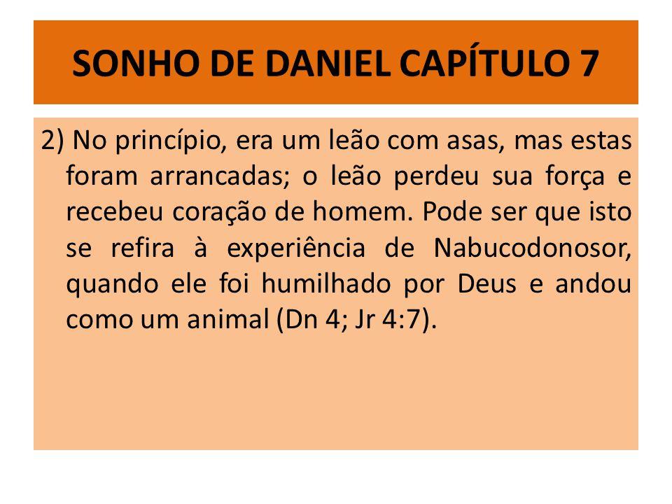 SONHO DE DANIEL CAPÍTULO 7