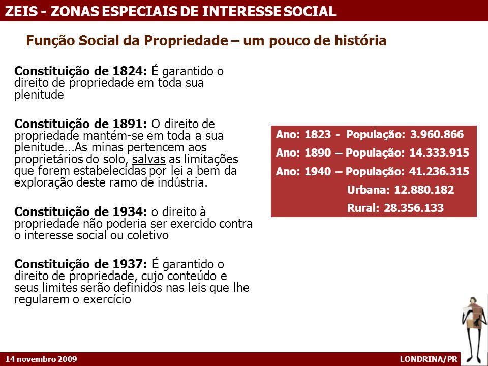 Função Social da Propriedade – um pouco de história