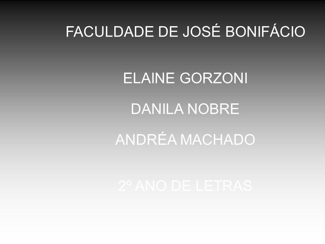 FACULDADE DE JOSÉ BONIFÁCIO